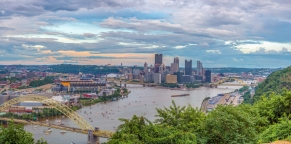 Pittsburgh-Pittsburgh skyline